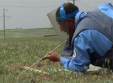 В Джамилли и Аскипаре найдены два снаряда калибром 122 мм