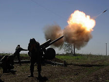 ВС Армении снова обстреливают азербайджанские территории