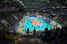 В Грозном началось строительство волейбольного дворца