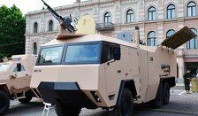 В Грузии продемонстрировали новую артиллерийскую систему
