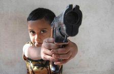 Грабитель с игрушечным пистолетом поджег хозяина дома в Котайкской области