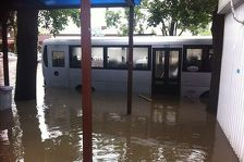 Улицы Владикавказа подтопило из-за неисправной канализации