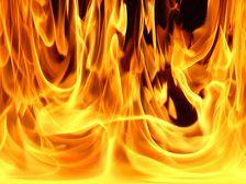 В Грозном горела пятиэтажка