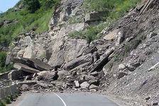 Обвал горной породы оставил без автосообщения 27 сел Чечни