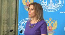 Мария Захарова: Россия работает в плотном контакте с другими сопредседателями Минской группы ОБСЕ