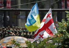 Гвардейцы Грузии и Украины обменяются опытом