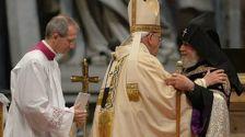 Папа Франциск и Гарегин II надеются на мирное урегулирование нагорно-карабахского конфликта