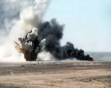 В Чечне на минном поле взорвался солдат