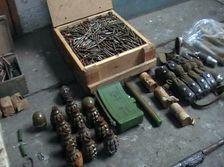 В Гимрах обнаружен тайник с оружием и взрывным устройством