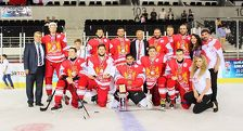Сборная Грузии по хоккею выиграла Кубок Анкары