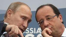Путин и Олланд созвонились по Карабаху