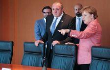 Маргвелашвили обсудил с Меркель экономическое сотрудничество