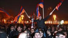 Митинг оппозиции собрал полторы тысячи жителей Еревана