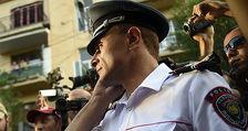 Сасунские храбрецы сожгли полицейскую Газель
