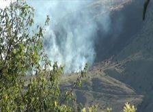 ВС Армении поджигают азербайджанские села