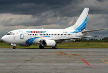 В аэропорту Симферополя самолет заблокировал взлетную полосу