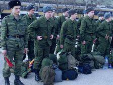 Первые 40 новобранцев из Северной Осетии прибыли в войска