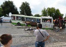 Водитель КамАЗа, врезавшегося в автобус в новой Москве, арестован на два месяца