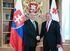Президенты Грузии и Словакии провели переговоры в Тбилиси